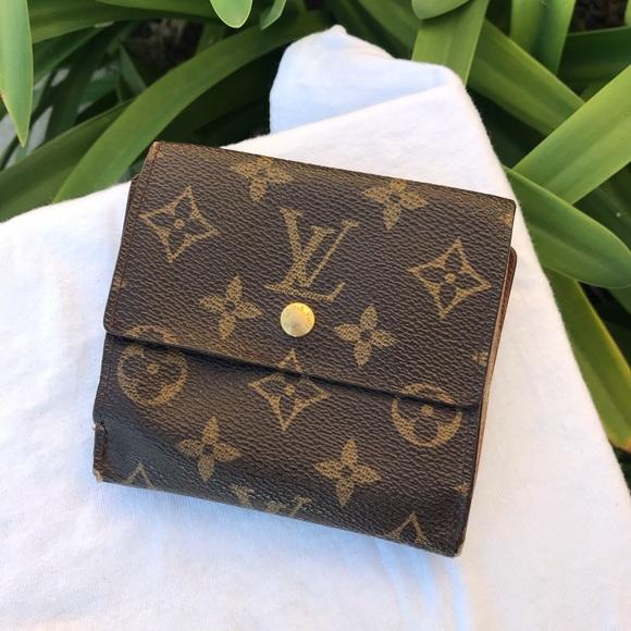 f595e2ee6898 Louis Vuitton Handbags - Louis Vuitton Elise Trifold Monogram Wallet
